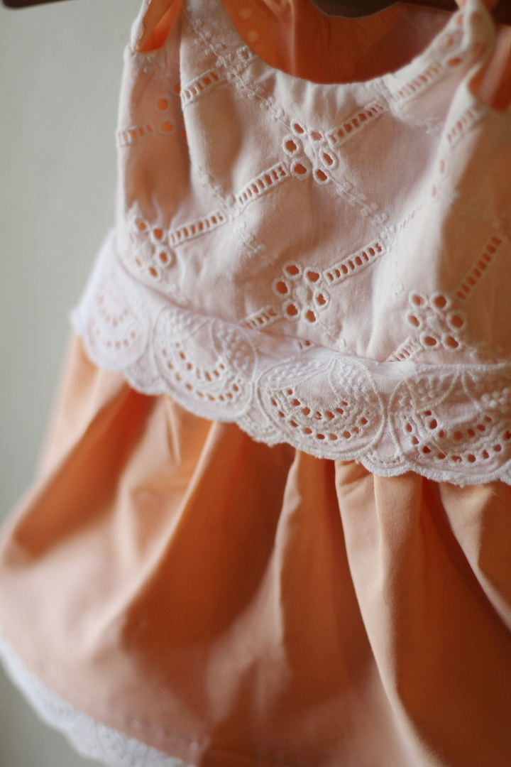 Itty Bitty Peach and Lace