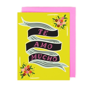 Te_Amo_Card